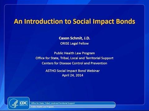 An Introduction to Social Impact Bonds