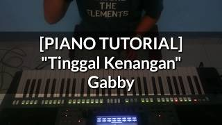 [PIANO TUTORIAL] Tinggal Kenangan - Gabby