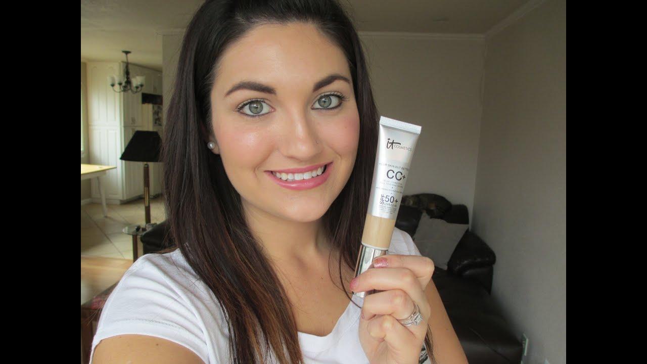 First Impression It Cosmetics Cc Cream Youtube