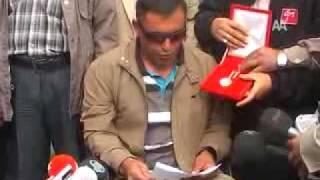 Gazi Mete Kurt Kayseri Valiliğine Madalyasını İade İçin Gitti, AKP AÇILIMa 34 PKK'lı Getirdi