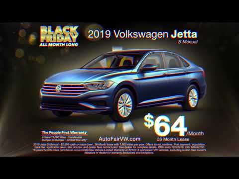 2019 Volkswagen Jetta Lease - November 2018