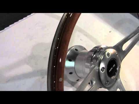 Wood Grain Steering Wheel with Hub from NRG Innovations ID11677