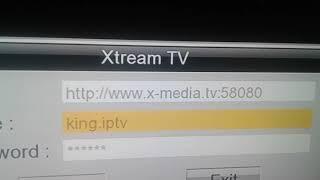 طريقة تشغيل خدمة  xtream كود تجريبي تاريخ نهاية الصلاحية غير محددة cod xtream samsat 60 mini 2019