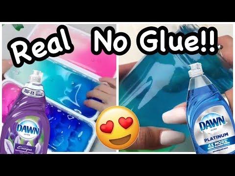 1 Ingredient Slimes!! 💧 No Glue Slime Recipes!!