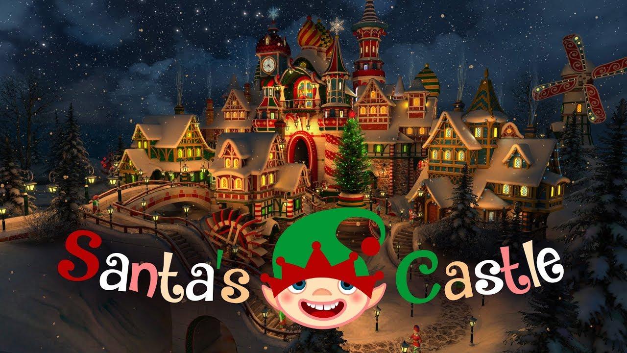 Santa S Castle 3d Live Wallpaper And Screensaver Youtube