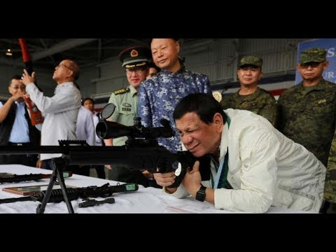 Philippines receive of AK rifles and military equipment from Russia