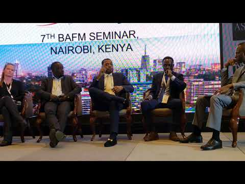 Reggie Middleton at the 7th Building African Financial Markets Seminar in Nairobi