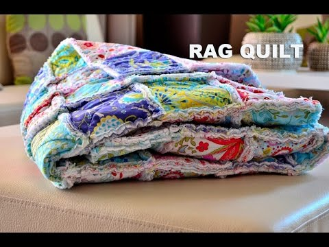 Rag Quilt Patchwork Videon 225 Vod Youtube