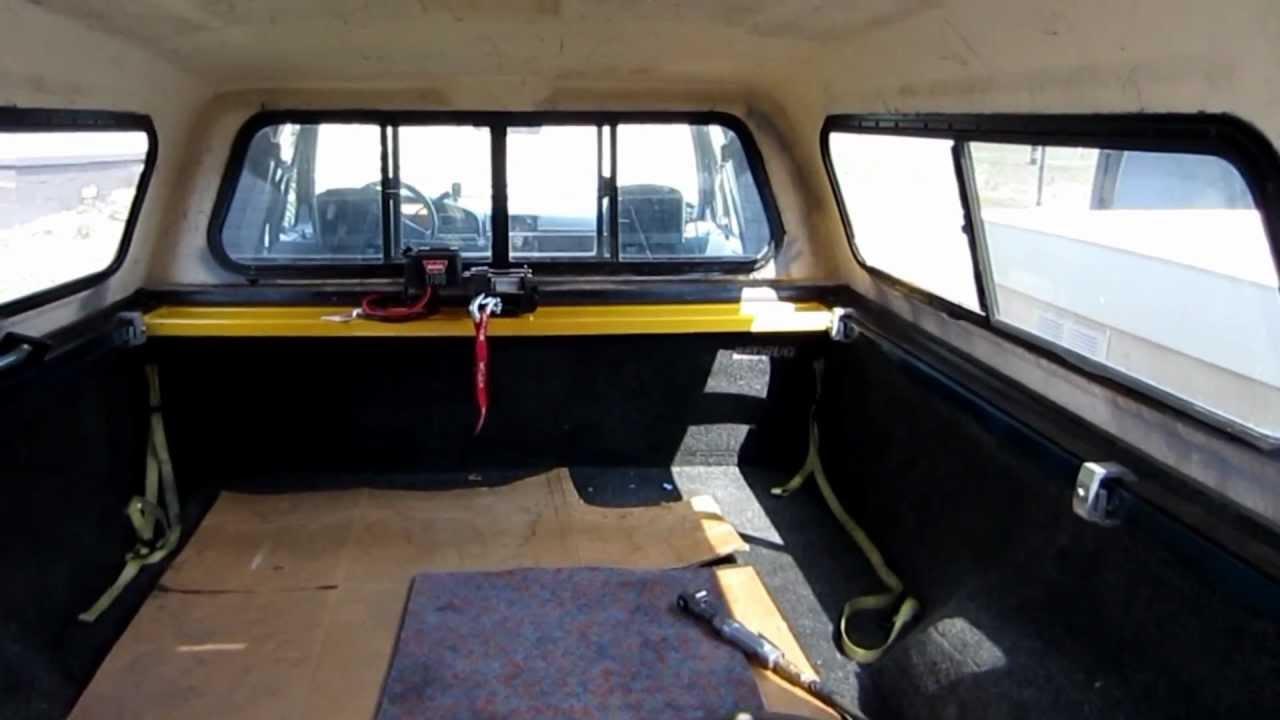 F150 Warn Winch Bed Rail Mount