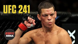 Nate Diaz is truly authentic | UFC 241 | ESPN MMA