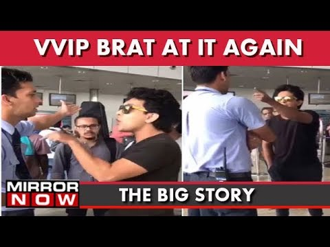 Aditya Narayan's Tantrums At Airport, Ex MP's Kin Escapes From Cops I The Big Story