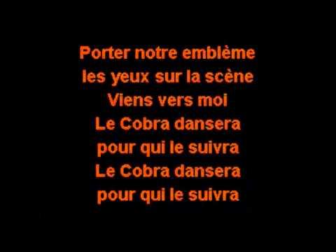 Marie-Mai - C.O.B.R.A. (Karaoke)
