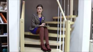 ЛЕДИ ЛЕ. Лестницы на больцах с несущими ступенями(, 2013-08-19T08:05:20.000Z)