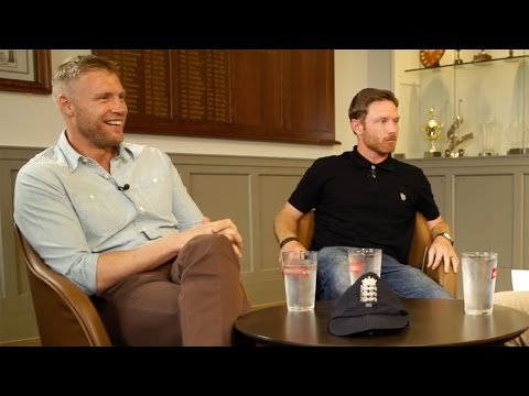 Andrew Flintoff and Ian Bell - Ashes special - 2005 memories and more
