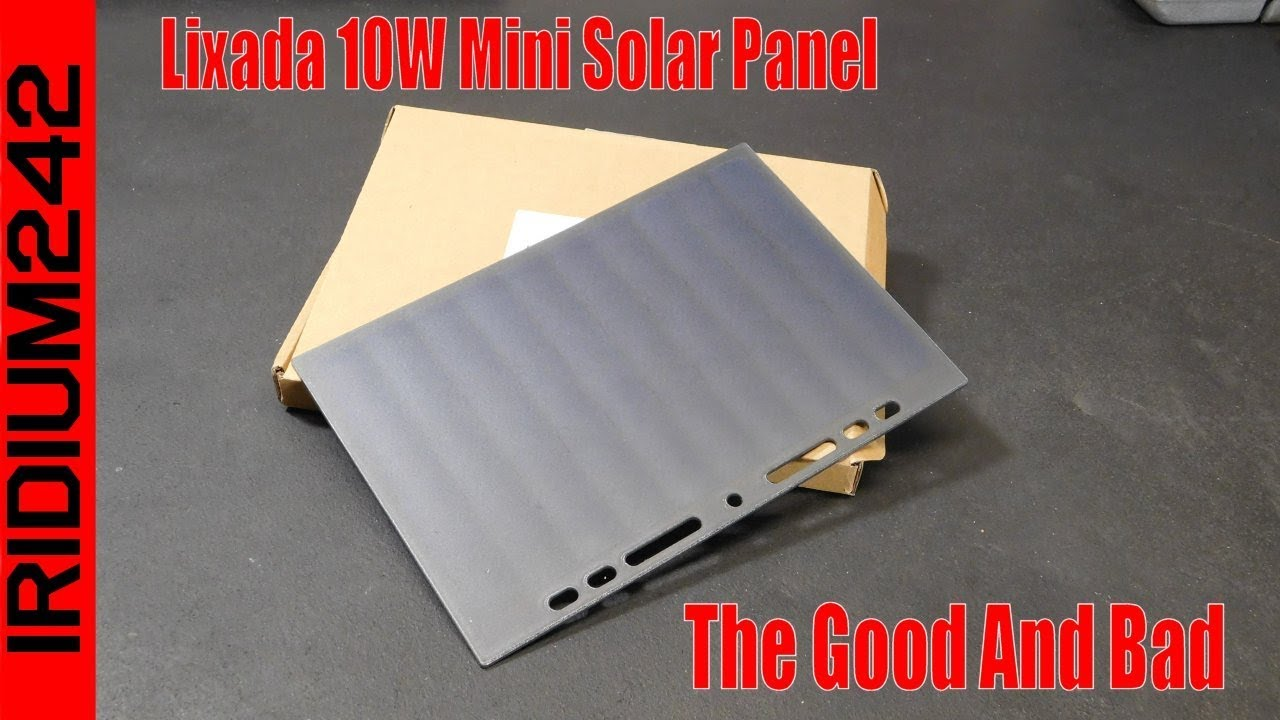 Lixada 10W Mini Solar Panel   The Good And Bad