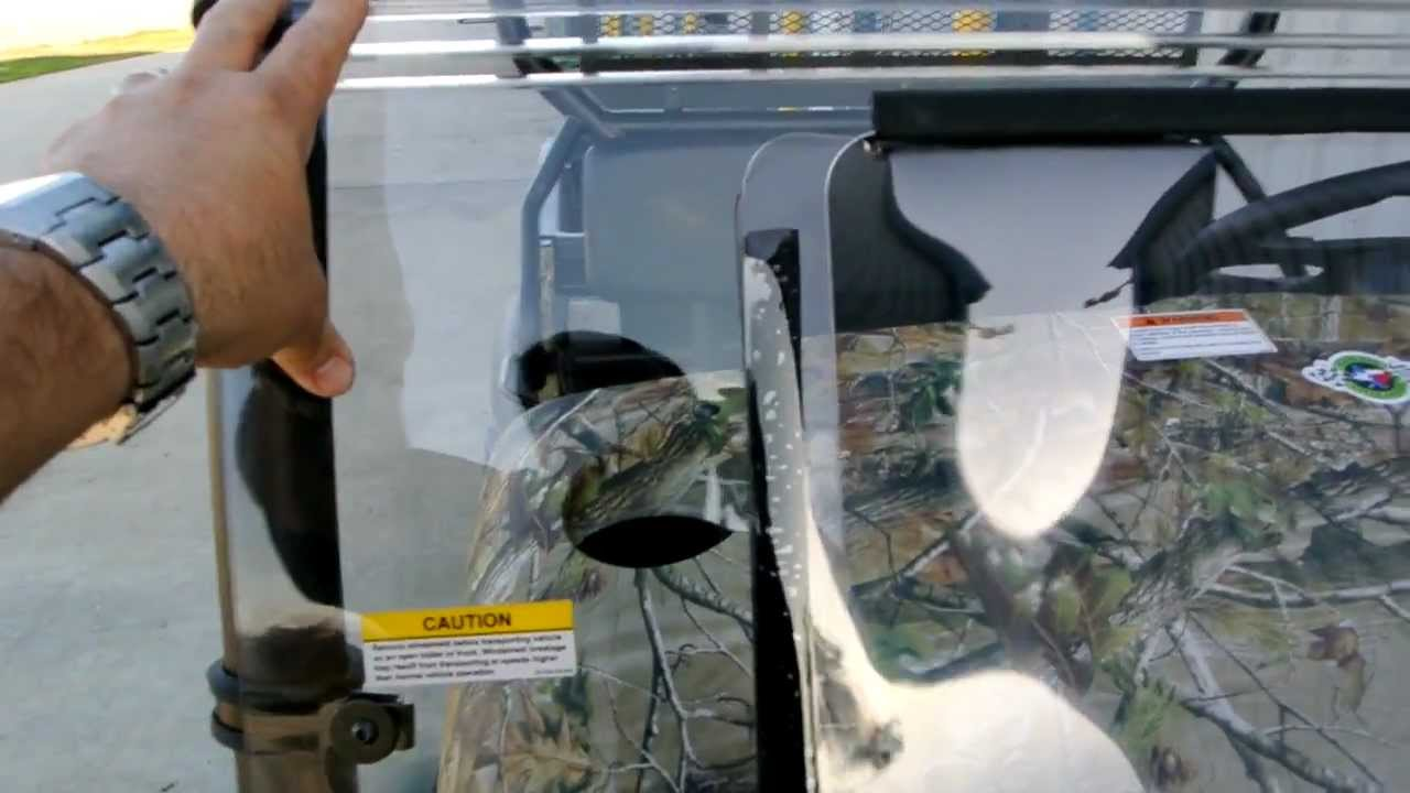 Kawasaki Mule 610 XC Camo With Our Most Por Accessories - YouTube