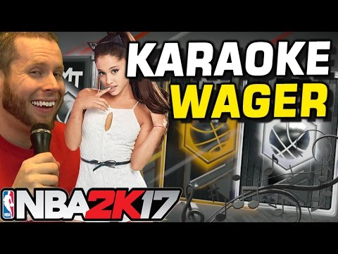 KARAOKE WAGER! DEEP SHOOTER PACKS! NBA 2K17!