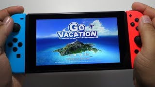 Go Vacation - Nintendo Switch gameplay