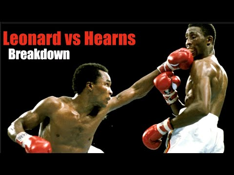 The Showdown - Leonard vs Hearns Back & Forth Battle Explained - Fight Breakdown