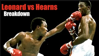 The Showdown - Leonard vs Hearns Back & Forth Battle Explained - Fight Breakdown