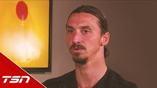 Zlatan Ibrahmovic explains why he didn't play hockey