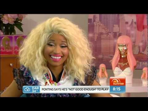 Nicki Minaj On The Today Show Australia (30/11/12)