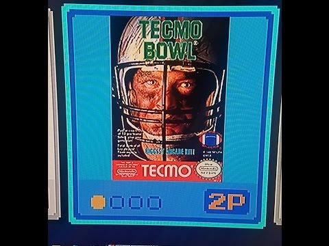 (EPISODE 1,211) RETRO GAMING: LET'S PLAY TECMO BOWL (NES MIN