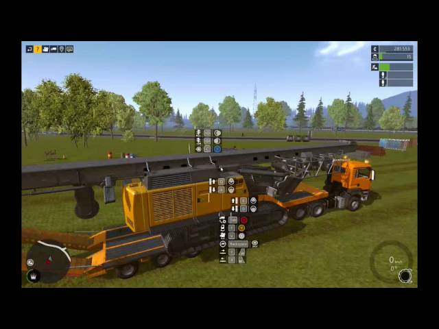 Let's Play Bau-Simulator 2015 | Die Brücke - Verdichten | Folge #029