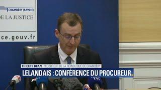 Nordahl Lelandais en examen pour l'assassinat d'Arthur Noyer: la conférence de presse du procureur