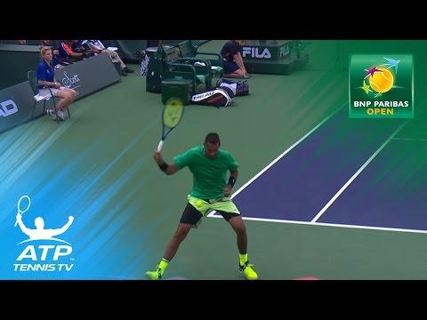 Nick Kyrgios Hot Shot Highlights v Zverev! | Indian Wells 2017 Day 6