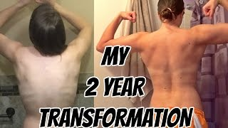 Girl's Transformation  |  2 Years, 20 Pounds  |  Strong IS The New Skinny
