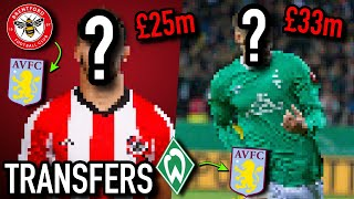 TRANSFER TALK | BENRAHMA AND WATKINS TO SIGN FOR £50M?!