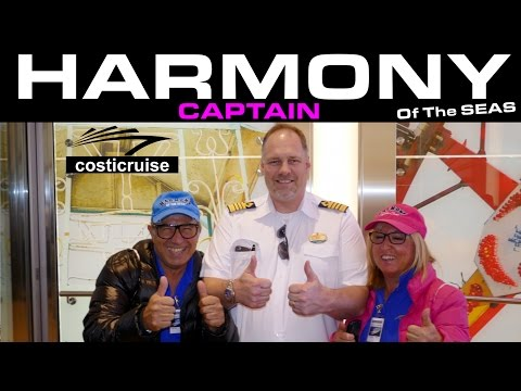 Harmony Of The Seas  Ultimate visit with captain By Costi