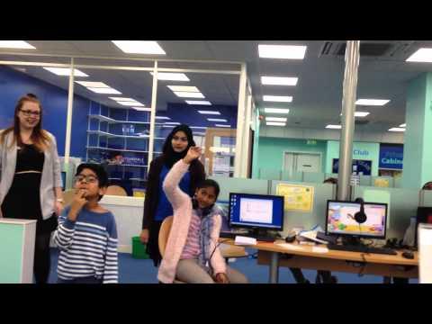 Bionda explore learning Ilford!!