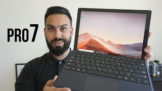 Microsoft Surface Pro 7 UNBOXING and REVIEW