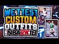 WETTEST CUSTOM OUTFITS IN NBA 2K18!💦 BAPE & MORE DESIGNER! DRIBBLE GOD! CLEANEST IN THE PLAYGROUND! mp3
