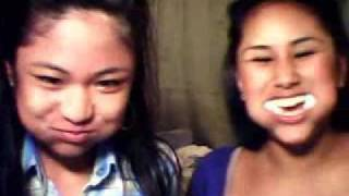 CHUBBY BUNNY/SHAKE THAT MONKEY with aubrey and aireen Thumbnail