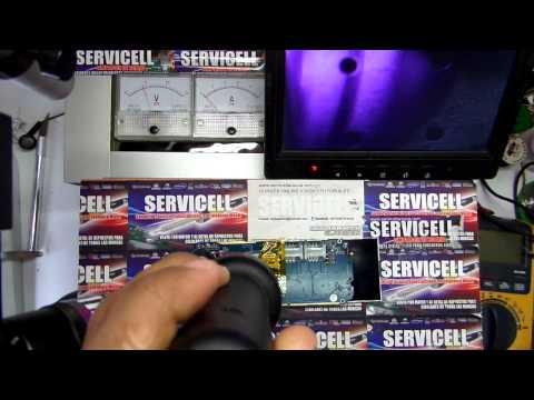 reparación BLU Jenny TV 2.8 dead  no enciende , resoldado del procesador técnica exclusiva