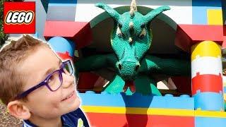 LEGOLAND HOTEL TOUR !!! Visite Complète, Room Tour, Air de Jeux, Legos Géants...