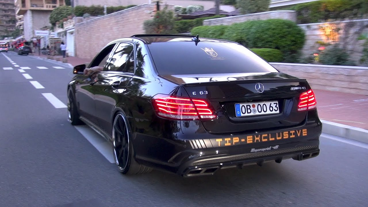Mercedes E63 Amg >> Mercedes Amg E63 S 750hp With Supersprint Exhaust