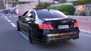 Mercedes-AMG E63 S  (750HP) with SuperSprint Exhaust!
