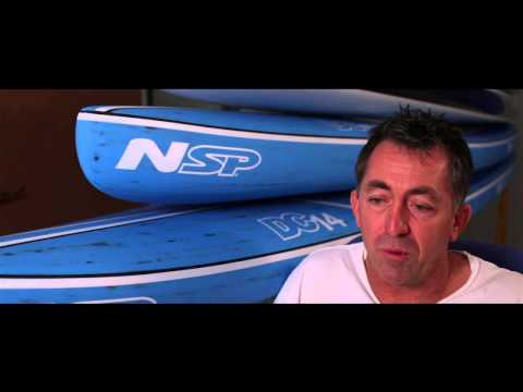 Designing NSP - Stand Up Paddle boards (SUP), Shaper series - Dale Chapman‏