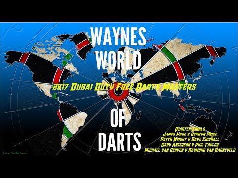 2017 Dubai Duty Free Darts Masters - Day One (Quarter Finals)
