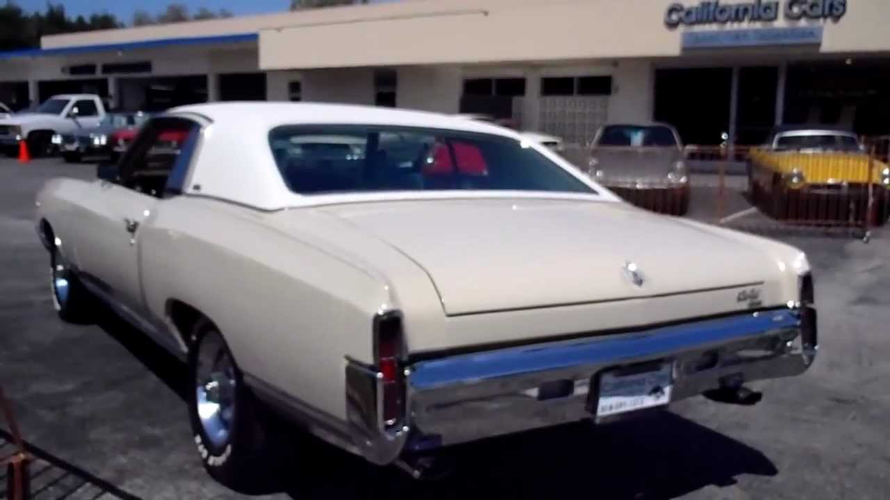 1971 chevrolet monte carlo youtube sciox Image collections