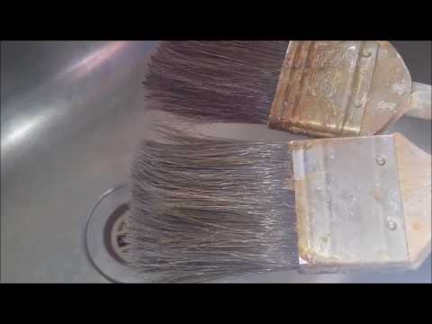 Revive a Hardened Paint Brush