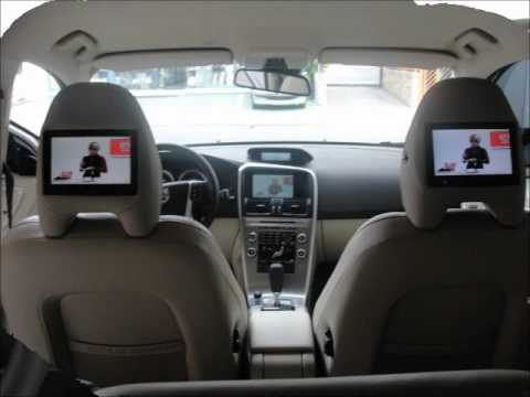 VOLVO XC 60 2012 TV/DVD/TELAS TRASEIRAS KROCOKAR - YouTube