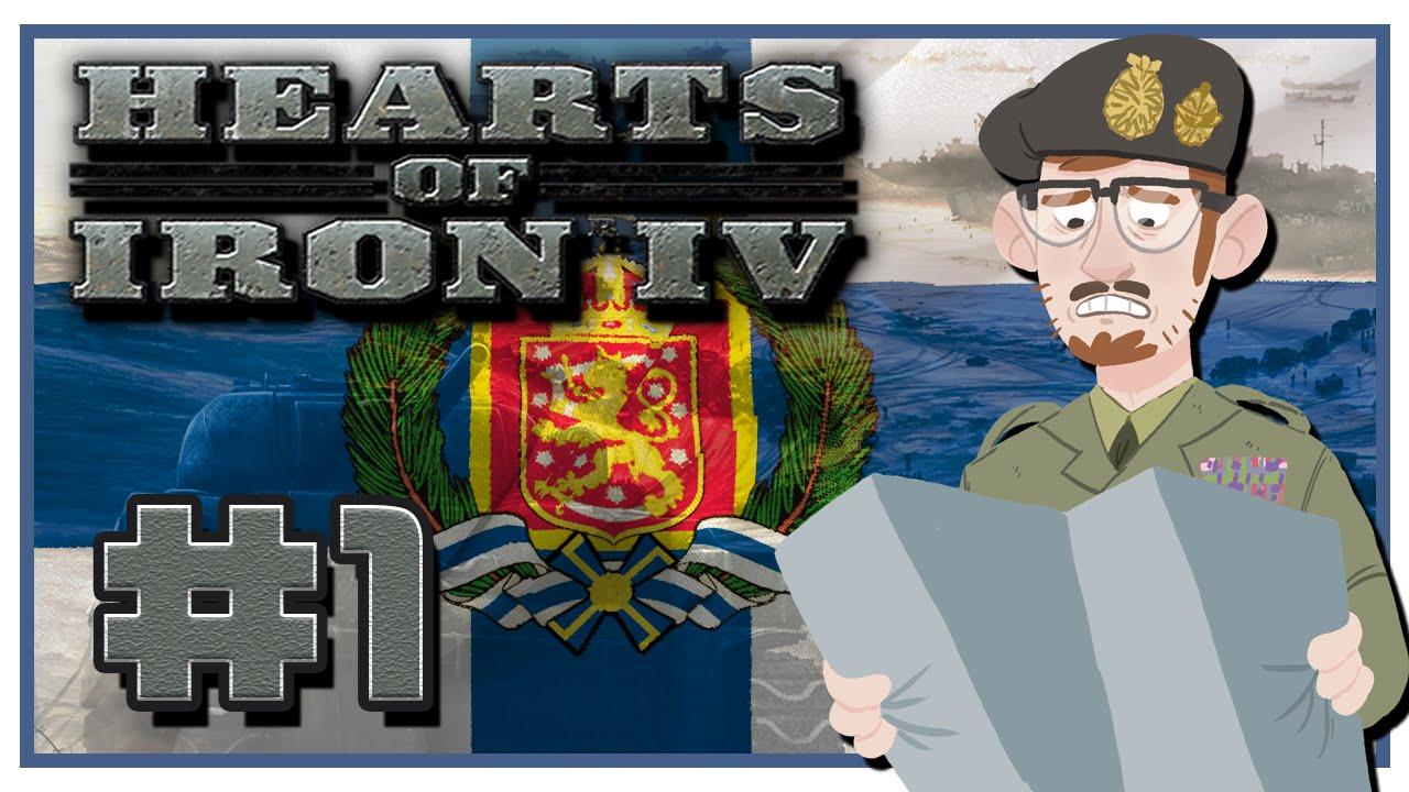 Hearts of Iron IV | Fascist Finland | Episode 1 [Finland, Finland, Finland]