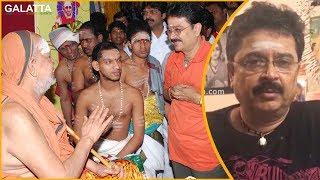 #JayendraSaraswathi Death is an irreplaceable loss - S Ve Shekhar condolence message