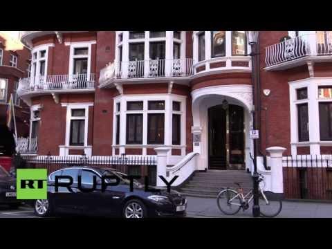 UK: Police end surveillance of Julian Assange outside Ecuadorian embassy