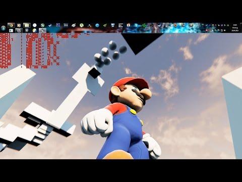 Unreal Engine 4 [4.7.6] Super Mario Galaxy Techdemo [ FIXED Walljumping]